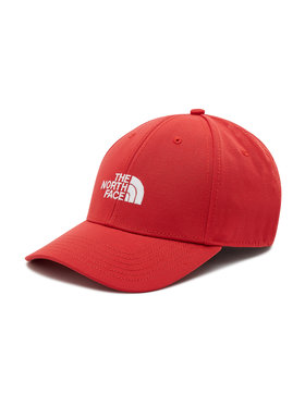 The North Face The North Face Czapka z daszkiem Recycled 66 Classic Hat NF0A4VSVV341 Czerwony