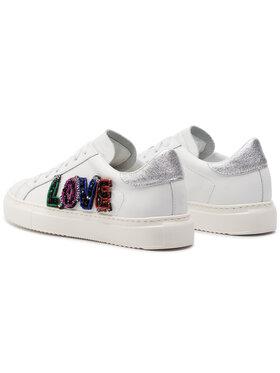 Stokton Sneakersy 371-D Biela