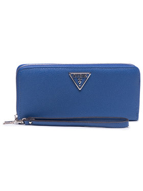 Guess Guess Portefeuille femme grand format Sandrine (Vg) Slg SWVG79 65460 Bleu