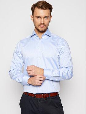 Eton Eton Košile 100001774 Modrá Regular Fit