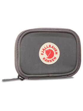 Fjällräven Fjällräven Veľká pánska peňaženka Känken Card Wallet 1401147 Sivá