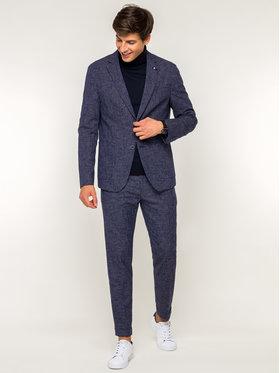 Tommy Hilfiger Tailored Tommy Hilfiger Tailored Společenské kalhoty TT0TT05530 Tmavomodrá Slim Fit