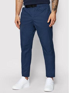 New Balance New Balance Pantaloni din material NBMP01504 Bleumarin Regular Fit