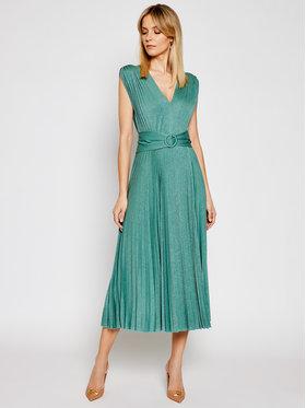 Marella Marella Sukienka koktajlowa Arnica 36210111 Zielony Regular Fit