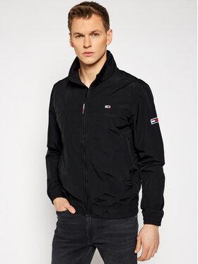 Tommy Jeans Tommy Jeans Prechodná bunda Essential Casual DM0DM10061 Čierna Regular Fit