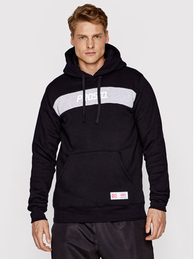 PROSTO. PROSTO. Sweatshirt Stripez 2091 Schwarz Regular Fit