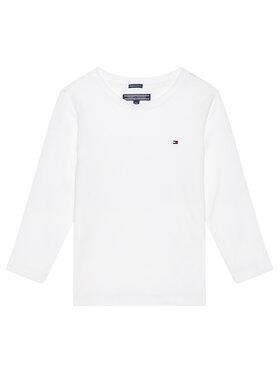 Tommy Hilfiger Tommy Hilfiger Bluză KB0KB04141 S Alb Long Sleeve
