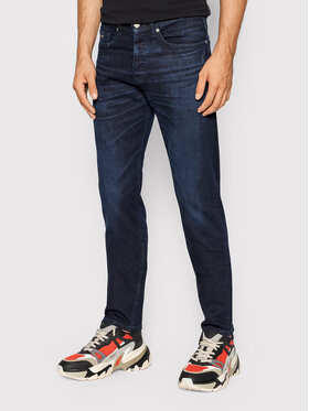 Boss Boss Jeansy Taber BC-P Brazil 50453268 Granatowy TapereD Fit