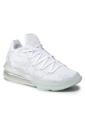 Nike Nike Boty Lebron XVII Low CD5007 103 Bílá
