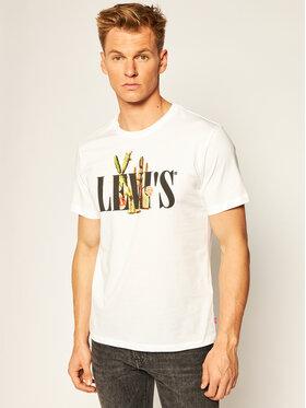 Levi's® Levi's® T-Shirt Graphic Crewneck Tee 22491-0731 Biały Regular Fit