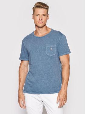 Polo Ralph Lauren Polo Ralph Lauren T-Shirt 710795137012 Niebieski Custom Slim Fit