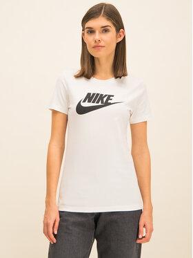 NIKE NIKE Marškinėliai BV6169 Balta Standard Fit