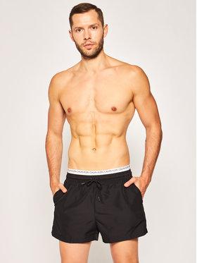 Calvin Klein Calvin Klein Úszónadrág Double KM0KM00438 Fekete Regular Fit
