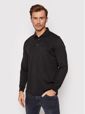 Pierre Cardin Pierre Cardin Тениска с яка и копчета 53604/000/12315 Черен Regular Fit