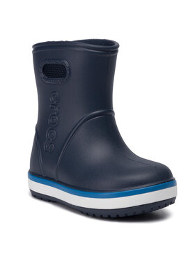 Crocs Crocs Гумени ботуши Crocband Rain Boot K 205827 Тъмносин