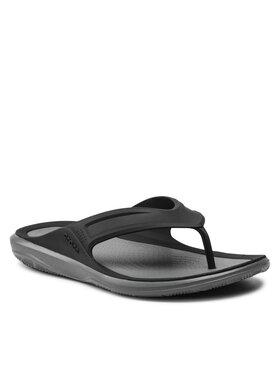 Crocs Crocs Žabky Swiftwater Wave Flip M 206242 Černá