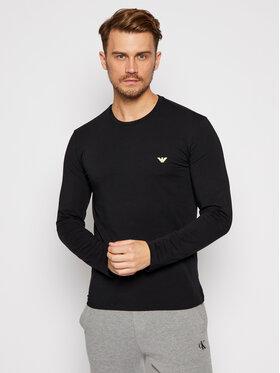 Emporio Armani Underwear Emporio Armani Underwear Marškinėliai ilgomis rankovėmis 111653 0A512 20 Juoda Regular Fit