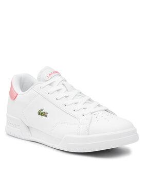 Lacoste Lacoste Sneakersy Twin Serve 0121 1 Sfa 42SFA00341T4 Biela