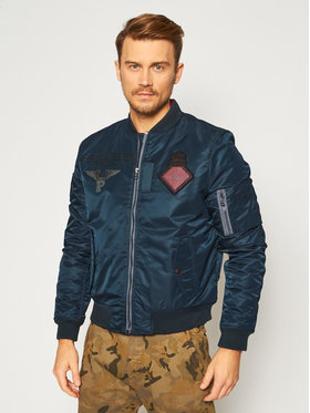 Pepe Jeans Pepe Jeans Яке бомбър Barton PM402320 Зелен Regular Fit