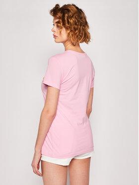 LOVE MOSCHINO LOVE MOSCHINO Tričko W4F7362E 1698 Ružová Regular Fit