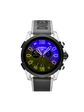 Diesel Diesel Chytré hodinky Full Guard 2.5 DZT2012 Šedá
