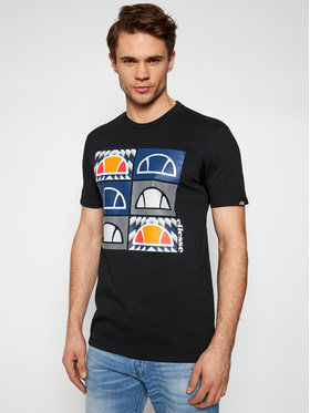 Ellesse Ellesse T-shirt Romal SHG09743 Nero Regular Fit