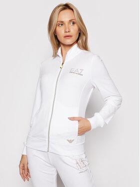 EA7 Emporio Armani EA7 Emporio Armani Sweatshirt 8NTM43 TJ9RZ 1100 Blanc Regular Fit