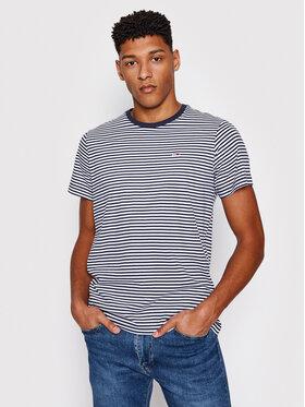Tommy Jeans Tommy Jeans T-Shirt Tjm Tommy Classic Stripe Tee DM0DM05515 Tmavomodrá Regular Fit
