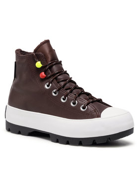 Converse Converse Кецове Ctas Lugged Winter Hi GORE-TEX 569556C Кафяв