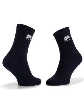 Fila Fila Unisex ilgų kojinių komplektas (3 poros) Calza Tennis F9000 Tamsiai mėlyna