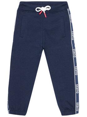 Guess Guess Sportinės kelnės N1RQ03 KA6R0 Tamsiai mėlyna Regular Fit