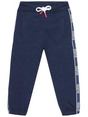 Guess Guess Teplákové kalhoty N1RQ03 KA6R0 Tmavomodrá Regular Fit