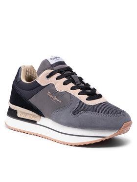 Pepe Jeans Pepe Jeans Sneakersy Rusper Teen PLS31261 Šedá