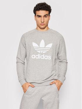 adidas adidas Sweatshirt adicolor Classics Trefoil Crewneck H06650 Gris Regular Fit