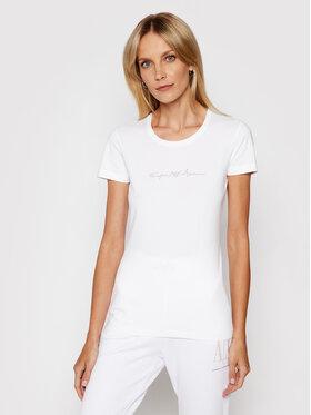 Emporio Armani Underwear Emporio Armani Underwear Marškinėliai 163139 1P223 00010 Balta Regular Fit