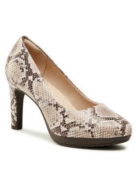 Clarks Clarks Pantofi Ambyr Joy 261577024 Maro