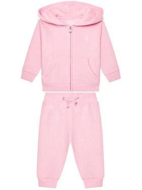 Lauren Ralph Lauren Lauren Ralph Lauren Jogginganzug Fleece Set 310833730002 Rosa Regular Fit