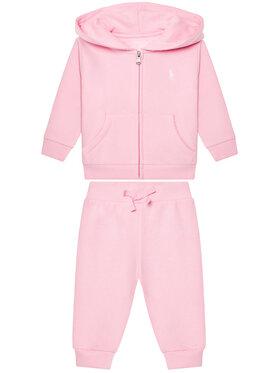 Lauren Ralph Lauren Lauren Ralph Lauren Melegítő Fleece Set 310833730002 Rózsaszín Regular Fit