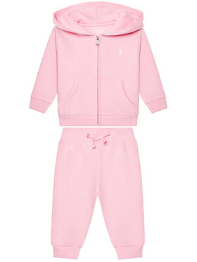 Lauren Ralph Lauren Lauren Ralph Lauren Sportinis kostiumas Fleece Set 310833730002 Rožinė Regular Fit