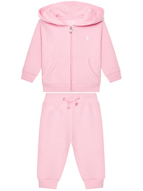Lauren Ralph Lauren Lauren Ralph Lauren Survêtement Fleece Set 310833730002 Rose Regular Fit