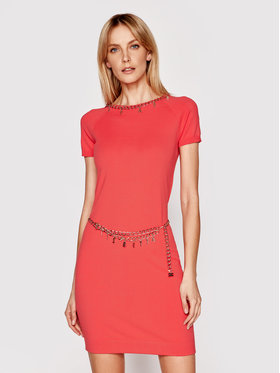 Elisabetta Franchi Elisabetta Franchi Džemper haljina AM-03S-11E2-V520 Crvena Regular Fit