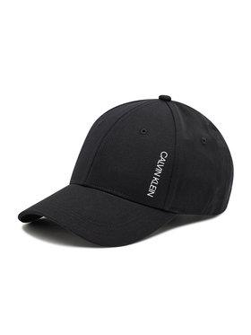 Calvin Klein Calvin Klein Καπέλο Jockey Cup KU0KU00085 Μαύρο