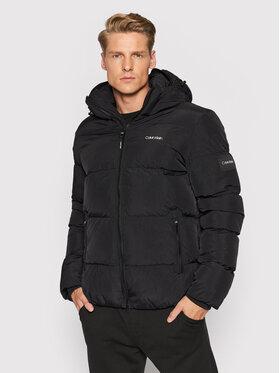 Calvin Klein Calvin Klein Vatovaná bunda Crinkle K10K107485 Černá Regular Fit