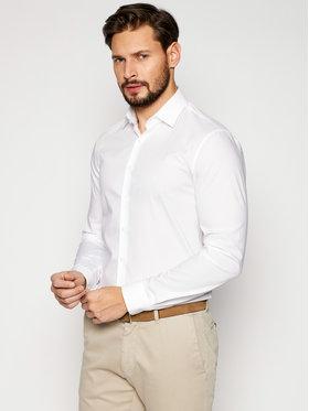 Calvin Klein Calvin Klein Košile Poplin Stretch K10K106040 Bílá Slim Fit