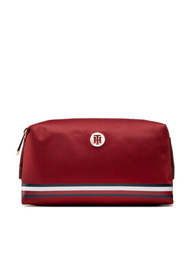 Tommy Hilfiger Tommy Hilfiger Trousse de toilette Poppy Washbag Corp AW0AW10545 Rouge