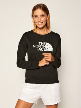 The North Face The North Face Bluză Drew Peak Crew NF0A3S4GJK31 Negru Regular Fit