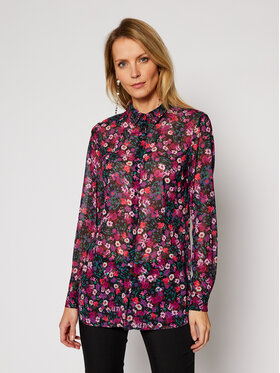 Guess Guess Camicia Clouis W1RH09 W70Q0 Viola Relaxed Fit