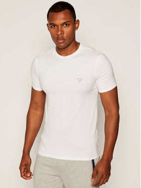 Guess Guess T-shirt Cn Ss Core M81I32 J1300 Bianco Regular Fit