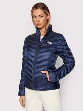 The North Face The North Face Пухено яке Trevail NF0A3BRMH2G1 Тъмносин Regular Fit