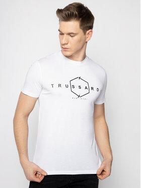 Trussardi Trussardi T-Shirt 52T00315 Weiß Regular Fit